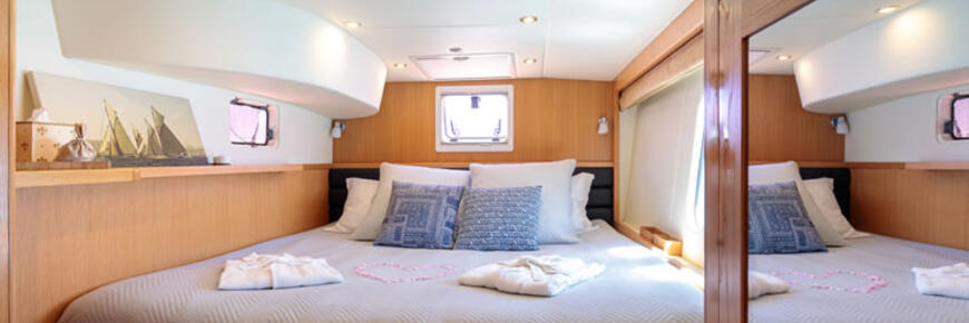 Luxury master cabin